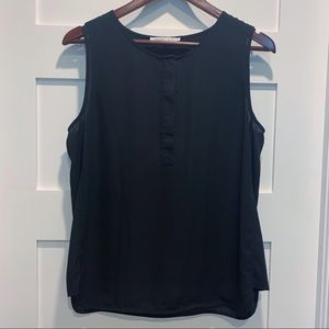 VIOLET & CLAIRE Black Tank Shell sz Medium